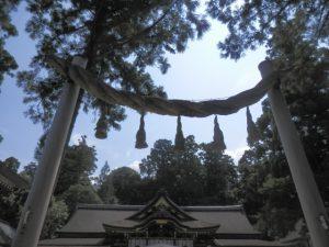 大物主命が祀られている大神神社