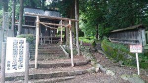 蚕玉神社は蚕の神様を祀る