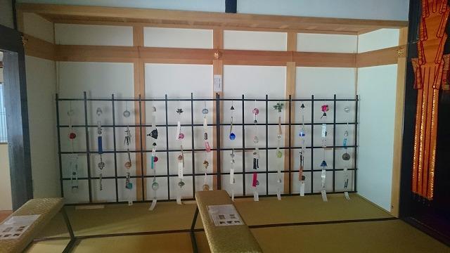 正寿院本堂の風鈴