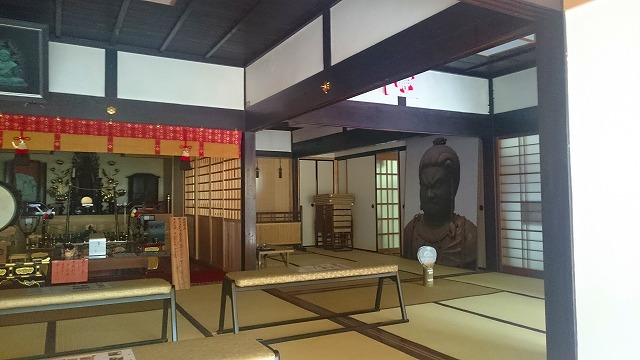 京都正寿院の快慶作不動明王