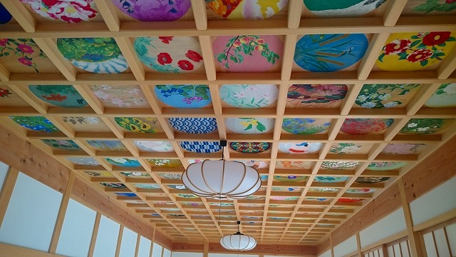 正寿院客殿の天井画
