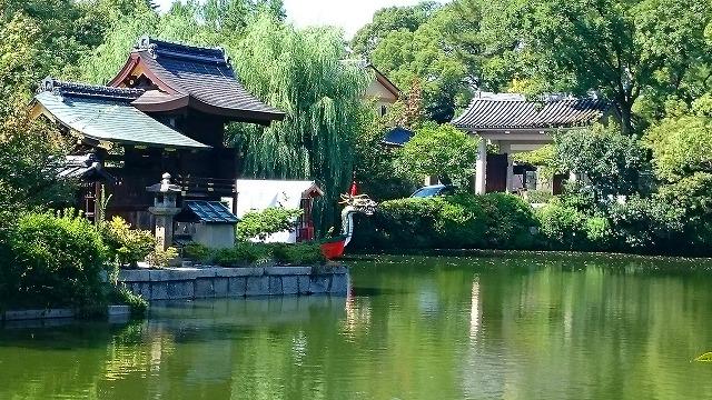 京都のパワースポット神泉苑