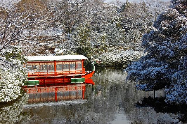 神泉苑は天皇の庭園