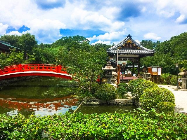 神泉苑は金運アップのパワースポット