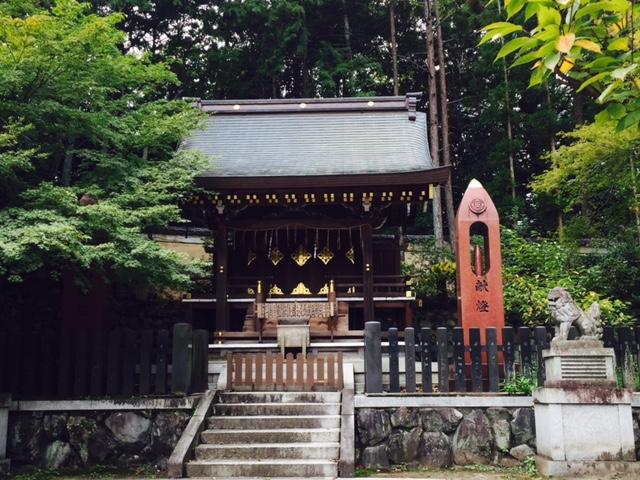 今宮神社の織姫社は女性に人気のパワースポット
