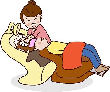 白内障手術の後は自分で洗髪できない