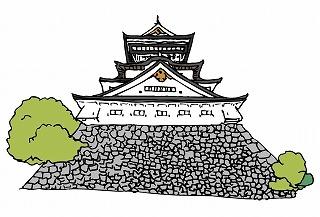 お玉さんが江戸城の大奥へ行く