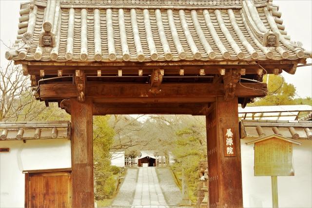 養源院は弁財天を祀る京都のお寺
