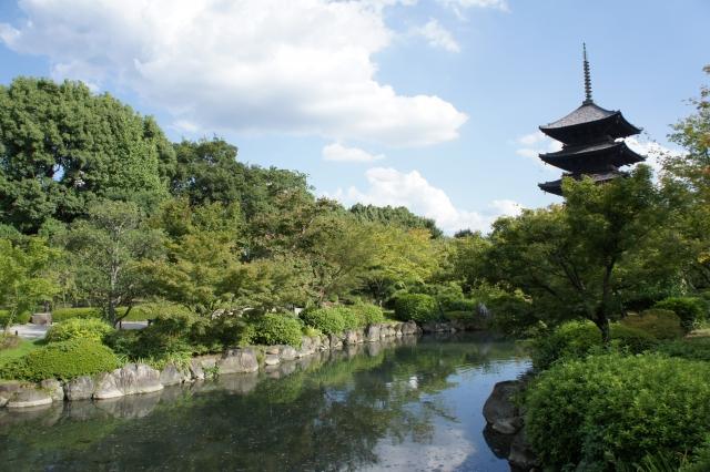 三弘法の東寺