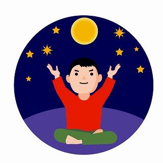 月花殿恋愛運アップ護符と月のパワー