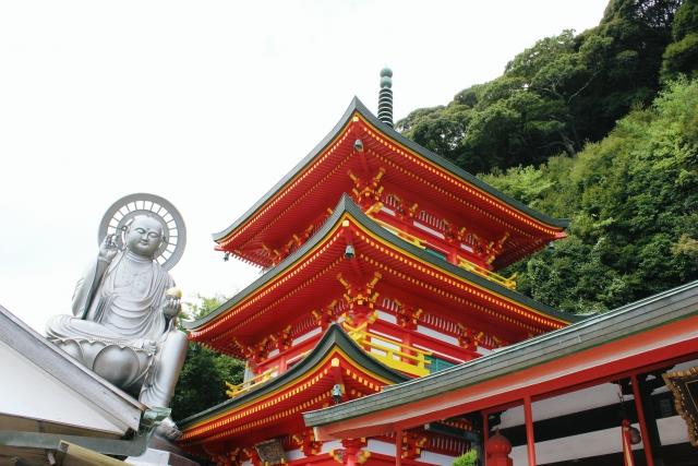 日本三大毘沙門天の朝護孫子寺