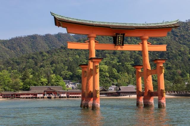 多紀理比売命を祀る厳島神社