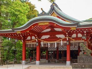 ギャンブル運 神社 埼玉県の久伊豆神社