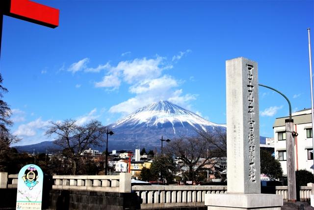 木花開耶姫命を祀る富士山本宮浅間大社