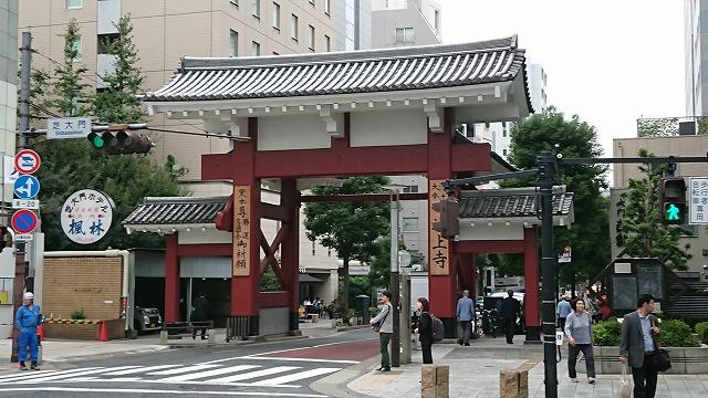 増上寺大門(旧総門)