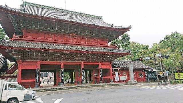 増上寺三解脱門(三門)