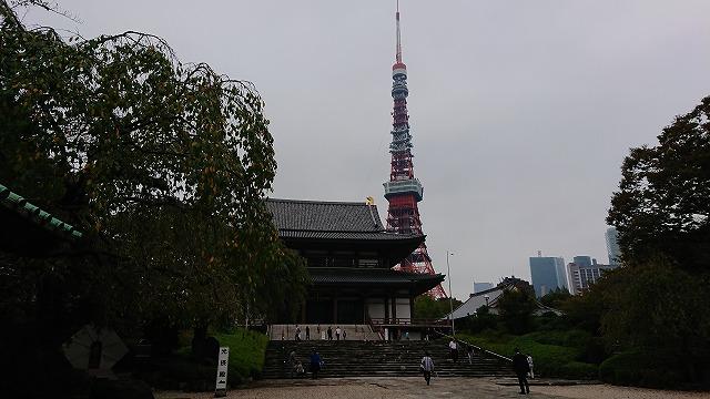 増上寺にお参りしました