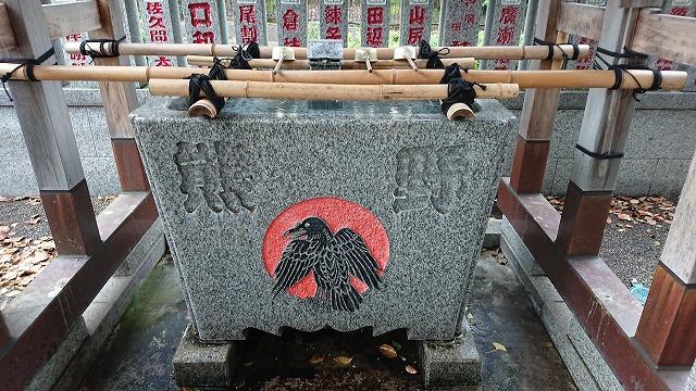 増上寺熊野神社八咫烏