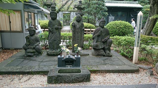 増上寺四菩薩像