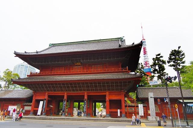 増上寺で金運のご利益を授かる