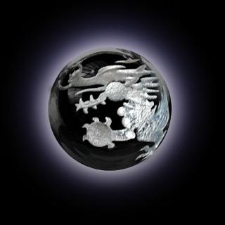 天龍翔 Heaven Dragon Fly 天龍彫オニキス