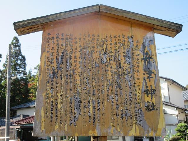 舟津神社のご祭神と由緒