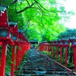 貴船神社で子授け祈願 京都の夫婦旅行で子宝のご利益とご縁が授かれる