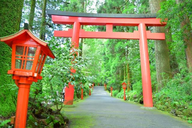 箱根神社は子宝神社 妊活のパワースポット