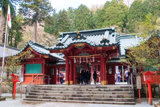 箱根神社本殿はパワースポット