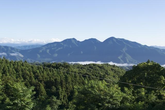 谷川岳の眺望