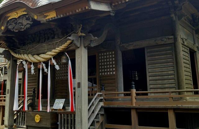 子宝神社の渋川八幡宮