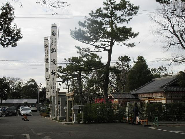 大阪の住吉大社の中にある種貸社