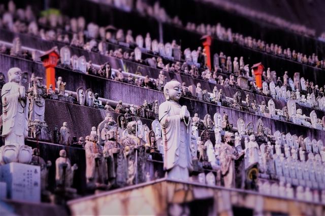 高塚愛宕地蔵尊のお地蔵様