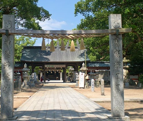 福岡の子宝神社 宇美八幡宮
