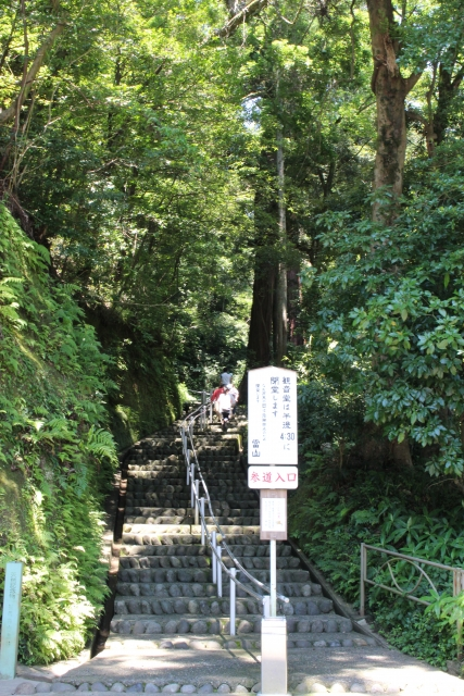 笠森観音の階段
