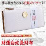 白蛇財布の金運効果 2ヵ月で30万円以上収入を得た主婦1,267人の口コミ