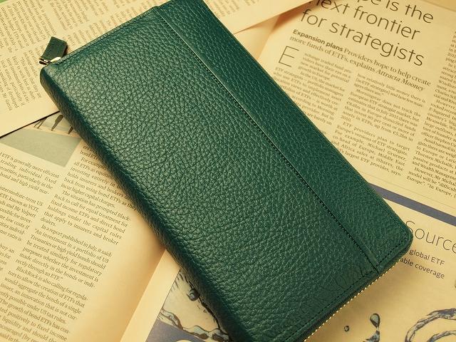 緑の財布は金運を上げる