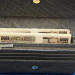 金運財布効果 3ヵ月で年収1800万円に! 希少な象革は本物の高級財布