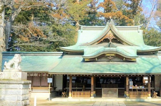 茨城県常総市の一言主神社で金運祈願