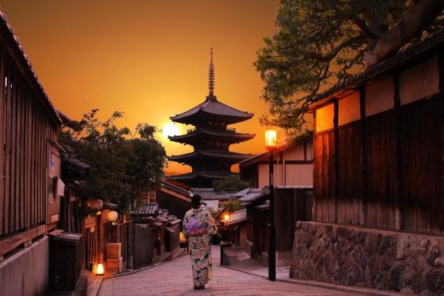 占いの吉方は京都