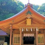 宝満宮竈門神社で良縁祈願 再会の木に縁結びをお願いした