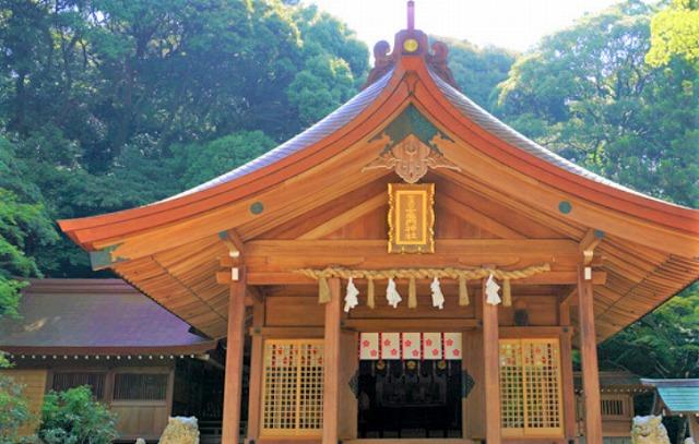 宝満宮竈門神社で良縁祈願