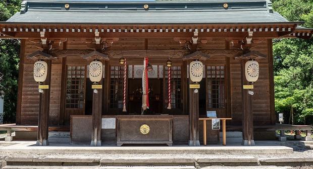 伊佐須美神社の仮本殿