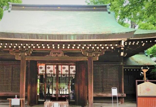 川越氷川神社で縁結び祈願