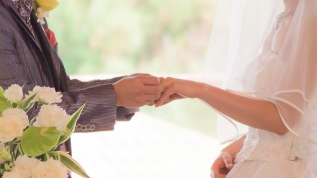 縁結びのご利益で結婚