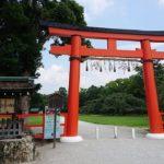 上賀茂神社に京都駅からバスでお詣り☆強力なパワースポット