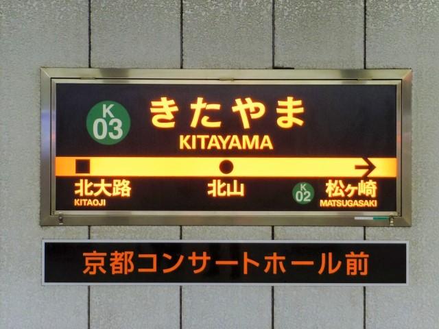 京都駅からはバスよりも地下鉄
