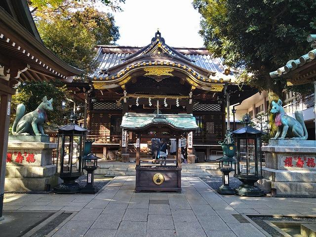赤坂の豊川稲荷東京別院