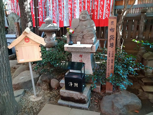 豊川稲荷東京別院の布袋尊
