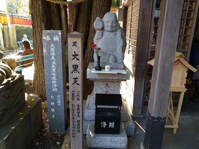 豊川稲荷東京別院の大黒天